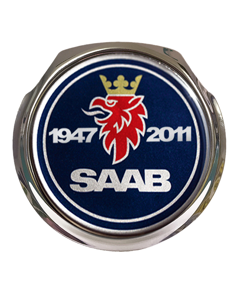 Saab Commemorative Car Grille Badge With Fixings Classic Car Gifts