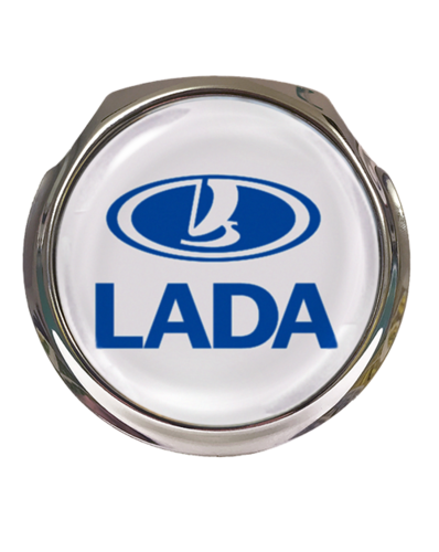 LADA Car Grille Badge With Fixings