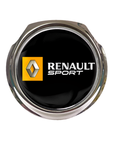 RENAULT SPORT Car Grille Badge With Fixings