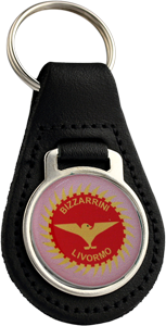 BIZZARRINI Round Leather Keyfob
