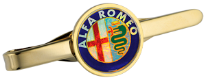 ALFA ROMEO Tie Slide - Colour