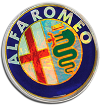ALFA ROMEO Pin Badge - Colour