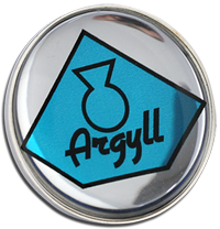 ARGYLL Clutch Pin Badge