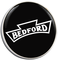 Bedford Clutch Pin Badge - Blk