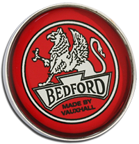 Bedford Clutch Pin Badge - Red