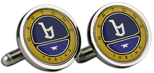 BERTONE Cufflinks & Gift Box - Colour