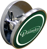 DAIMLER Fridge Magnet - Green Design