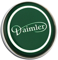 DAIMLER Clutch Pin Badge - Green Design