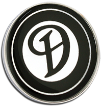 DAIMLER Clutch Pin Badge - Black Design