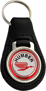 HUMBER Round Leather Keyfob