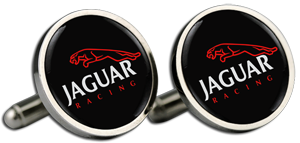 JAGUAR Cufflinks & Gift Box - RACE