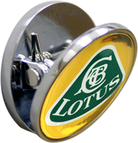 LOTUS Fridge Magnet - YELL