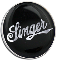 SINGER Pin Badge