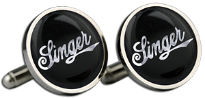 SINGER Cufflinks & Gift Box