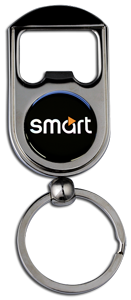 SMART CAR TEXT Bottle Opener