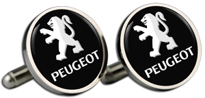 PEUGEOT Text Cufflinks & Gift Box