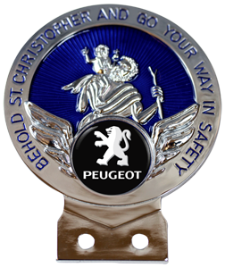 PEUGEOT Text St Christopher