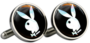 PLAYBOY Cufflinks & Gift Box