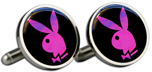 PLAYBOY PINK Cufflinks & Gift Box