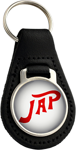 JAP Round Leather Keyfob (001)
