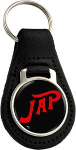 JAP Round Leather Keyfob (002)