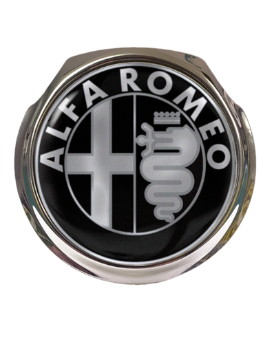 ALFA Car Grille Badge With Fixings