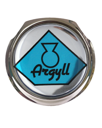 ARGYLL Car Grille Badge With Fixings
