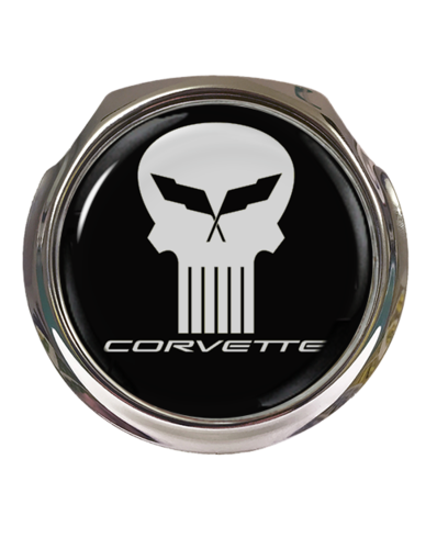 PUNISHER Car Grille Badge With Fixings