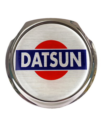 DATSUN Car Grille Badge With Fixings