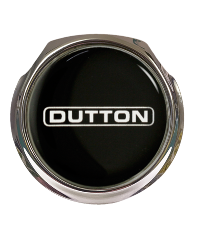 DUTTON Car Grille Badge With Fixings