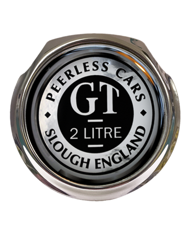 PEERLESS Car Grille Badge With Fixings