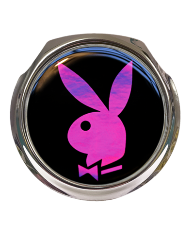 PINK PLAYBOY Car Grille Badge With Fixings