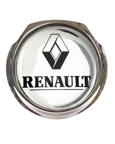 RENAULT Car Grille Badge With Fixings