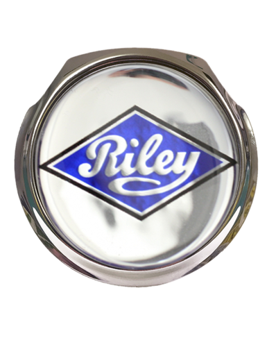 RILEY Car Grille Badge With Fixings