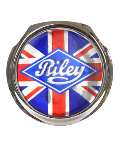 RILEY GB Car Grille Badge With Fixings