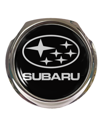 SUBARU Car Grille Badge With Fixings